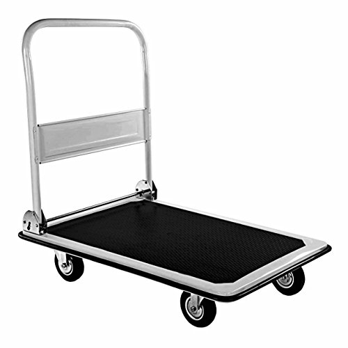 oypla 150kg platform hand sack truck trolley transport heavy duty. Black Bedroom Furniture Sets. Home Design Ideas
