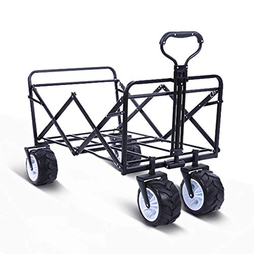 Gona Foldable Handcart Beach Cart With Brakes Solid